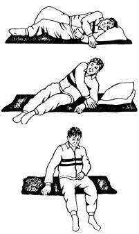 Активная гимнастика для лежачих больных